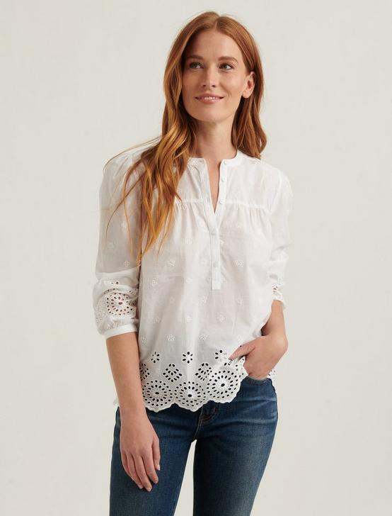 REBECCA EYELET POPOVER, LUCKY WHITE, productTileDesktop