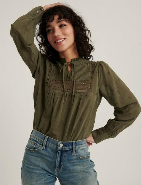 CORA EMBROIDERED BLOUSE TOP,