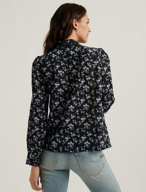 DEVON EMBROIDERED SHIRT, BLACK MULTI