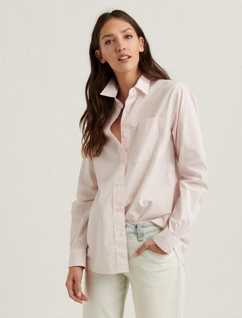 RELAXED SHIRT, PINK MULTI
