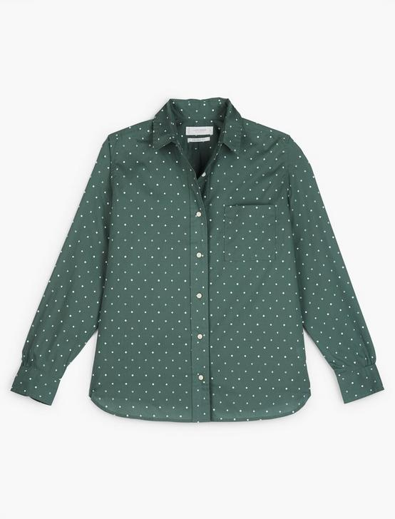 RELAXED SHIRT, GREEN MULTI, productTileDesktop