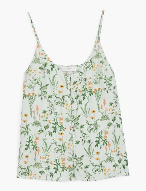 BUTTON FRONT CAMI,