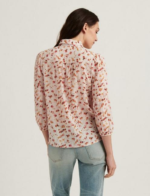 THE POET SHIRT, NATURAL MULTI