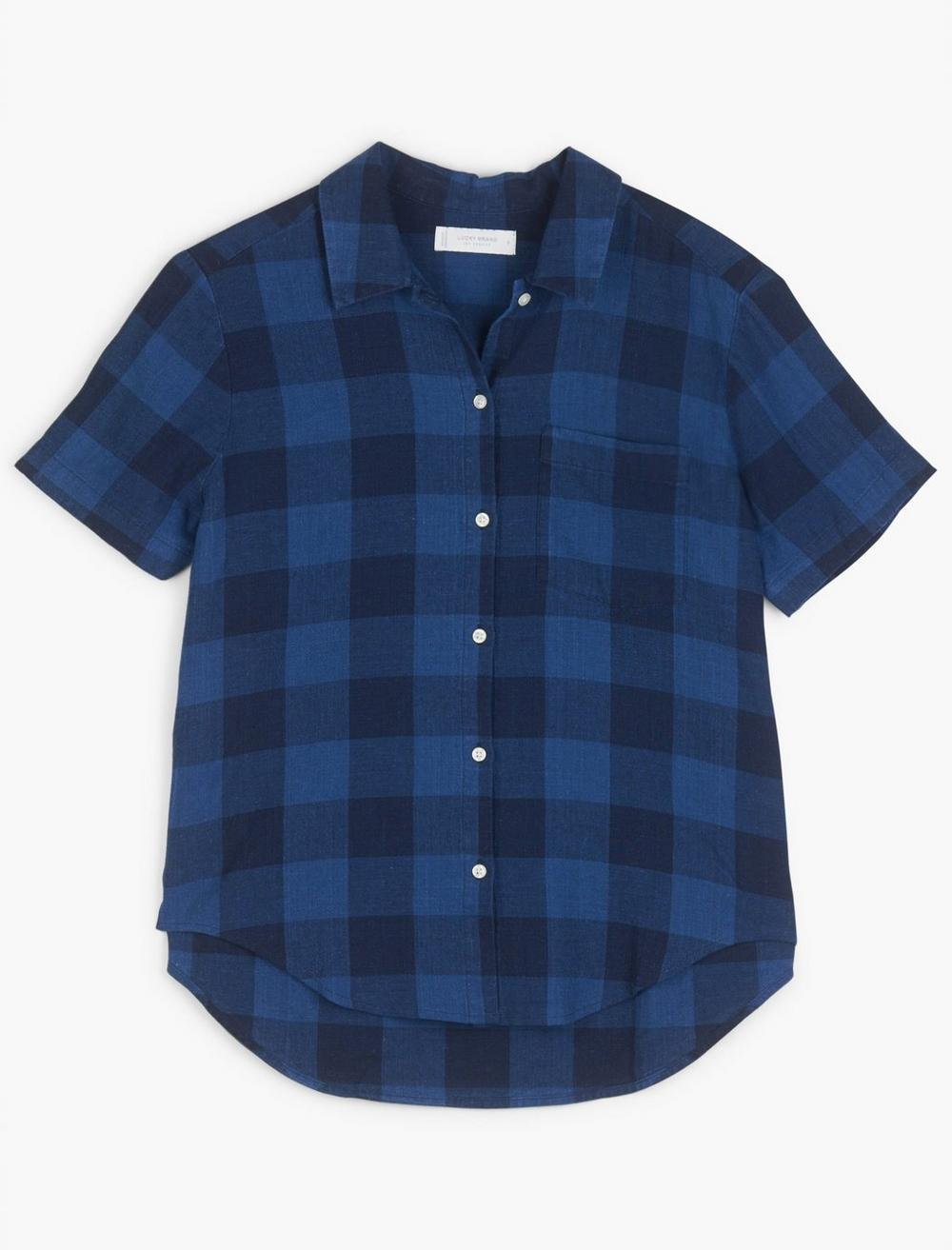 TIE FRONT SHIRT, image 1