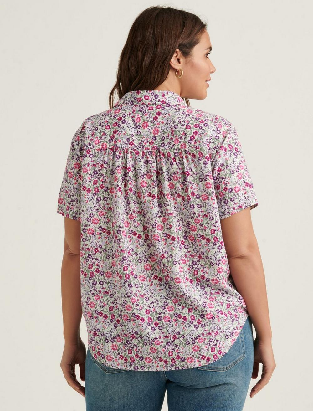 TIE FRONT SHIRT, image 6