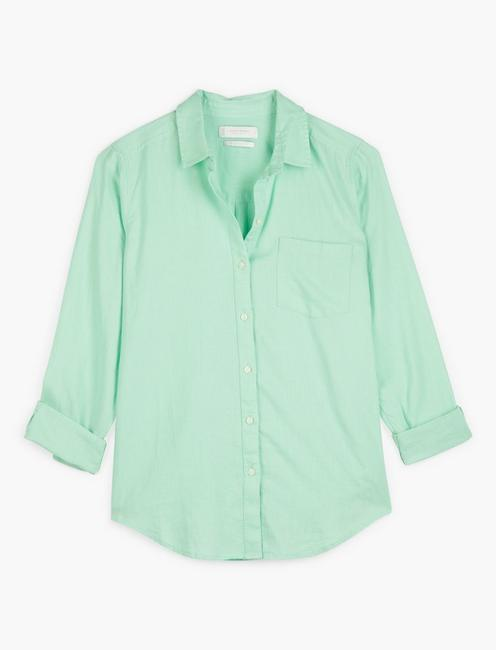 CLASSIC ONE POCKET SHIRT, LIGHT GREEN