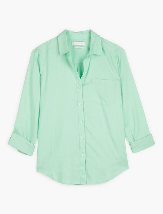 CLASSIC ONE POCKET SHIRT, LIGHT GREEN, productTileDesktop