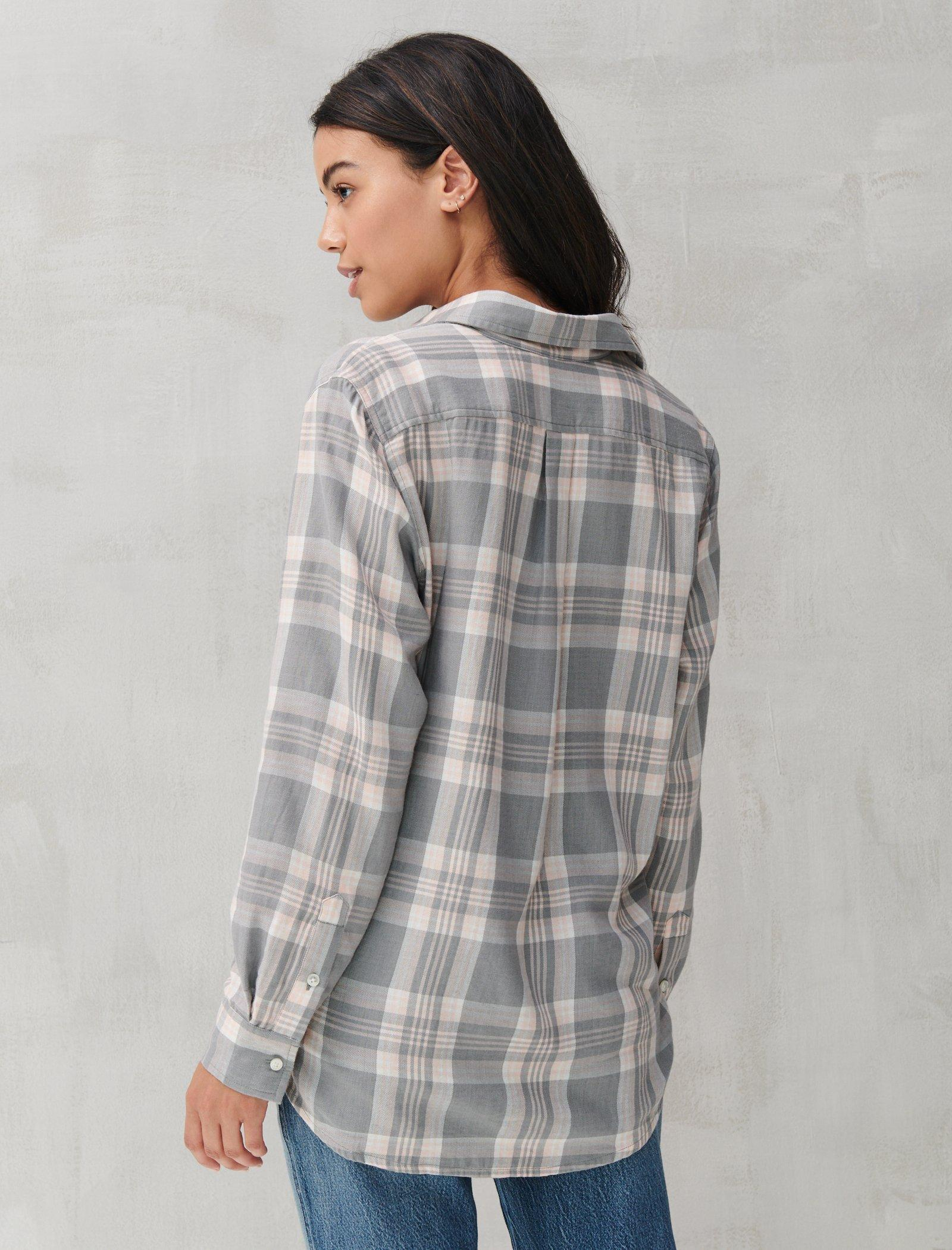 RELAXED FLANNEL SHIRT, image 4