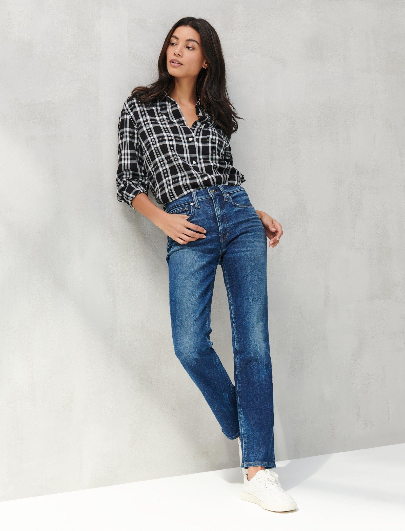 RELAXED FLANNEL SHIRT, image 2