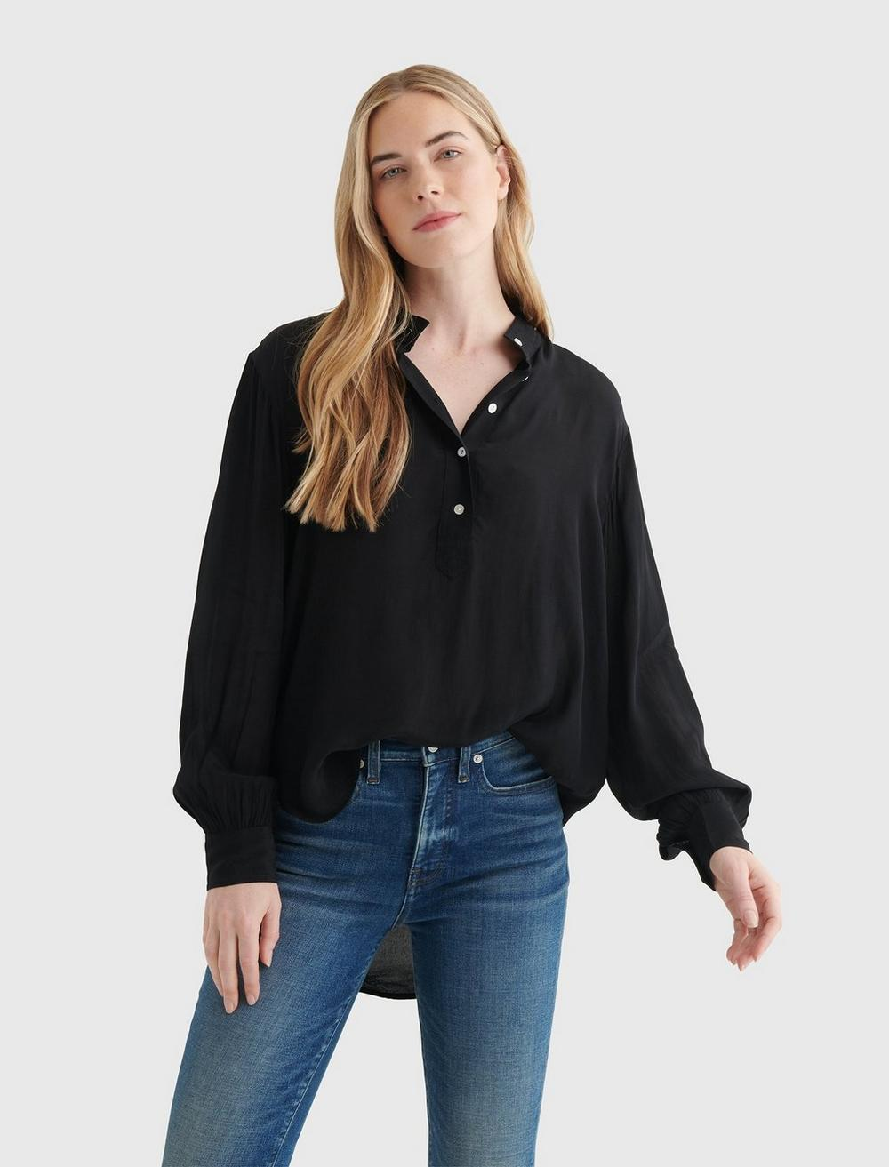 RELAXED POPOVER SHIRT, image 1