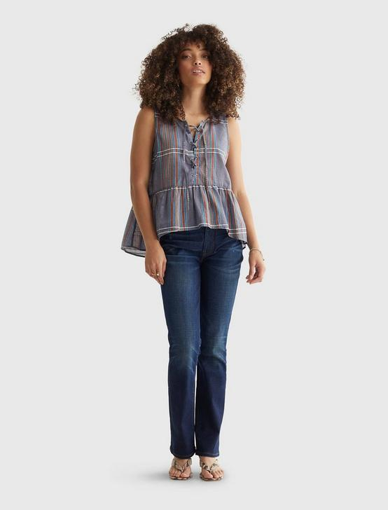 RELAXED WOVEN CAMI, MULTI, productTileDesktop