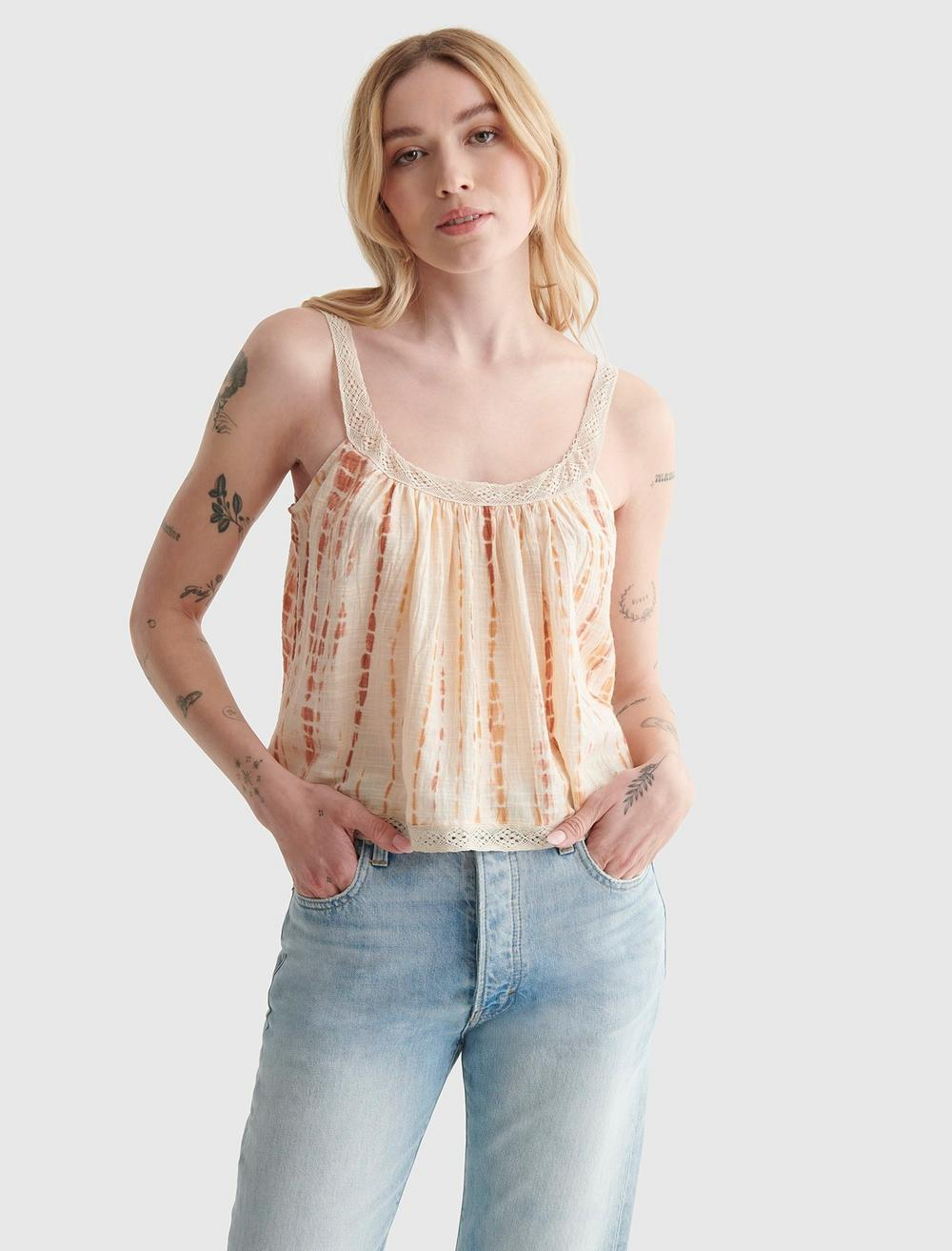 WOVEN SWING CAMI, image 1