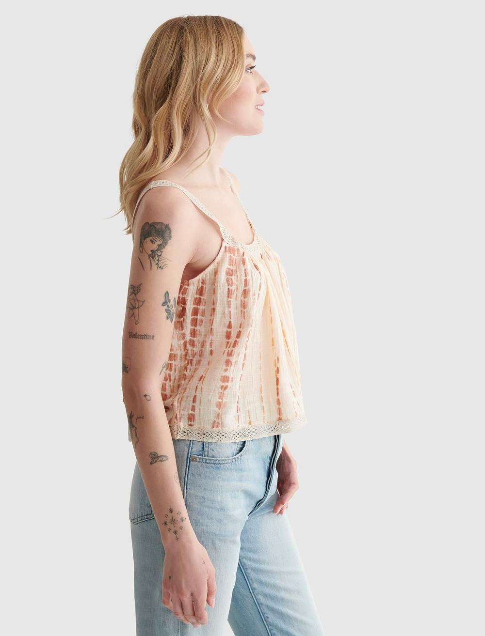 WOVEN SWING CAMI, image 3