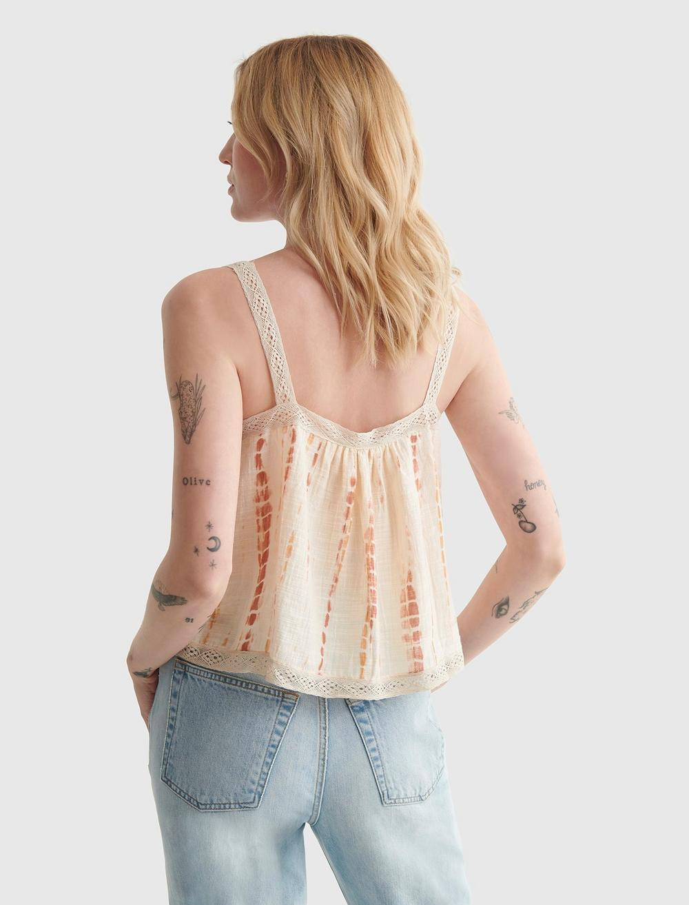 WOVEN SWING CAMI, image 5