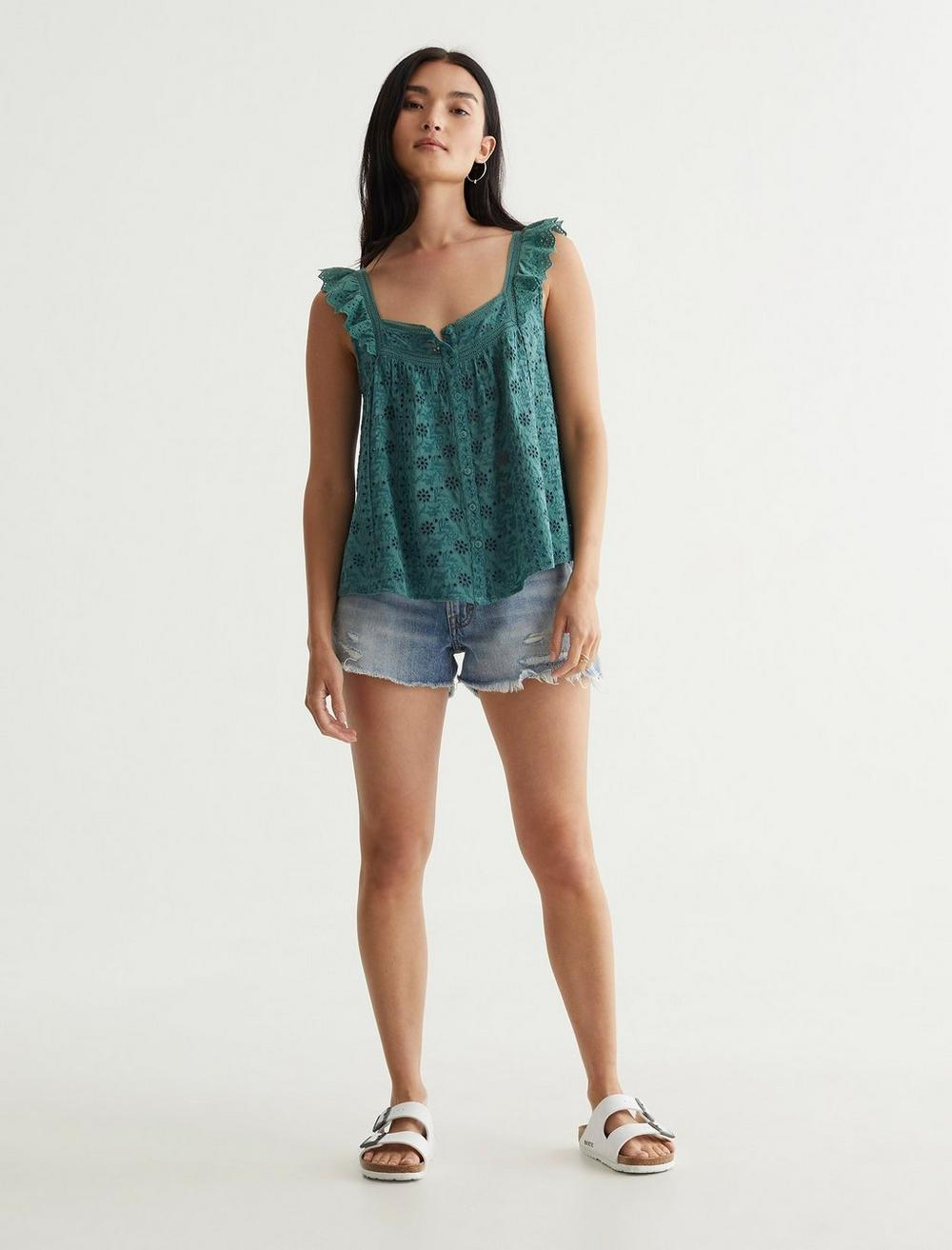 EMBROIDERED TANK, image 2
