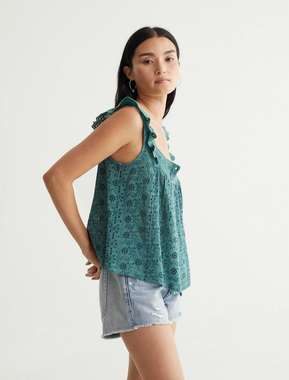 EMBROIDERED TANK, image 3