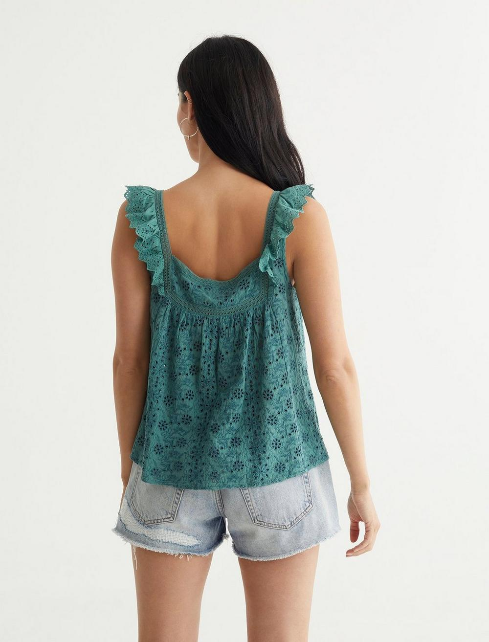 EMBROIDERED TANK, image 4