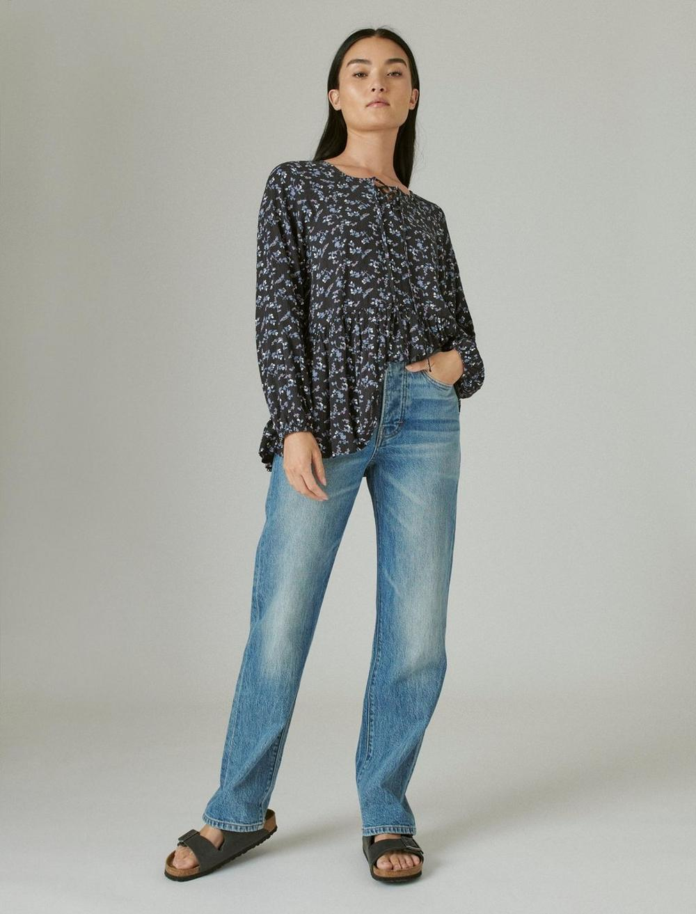 FLORAL PRINTED TUNIC, image 2
