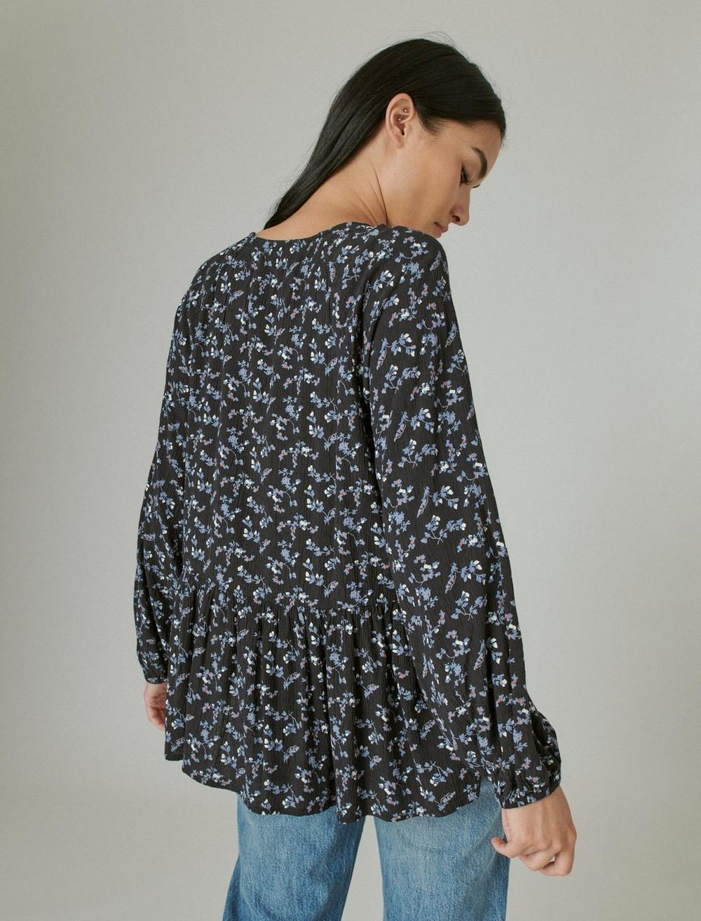FLORAL PRINTED TUNIC, image 4