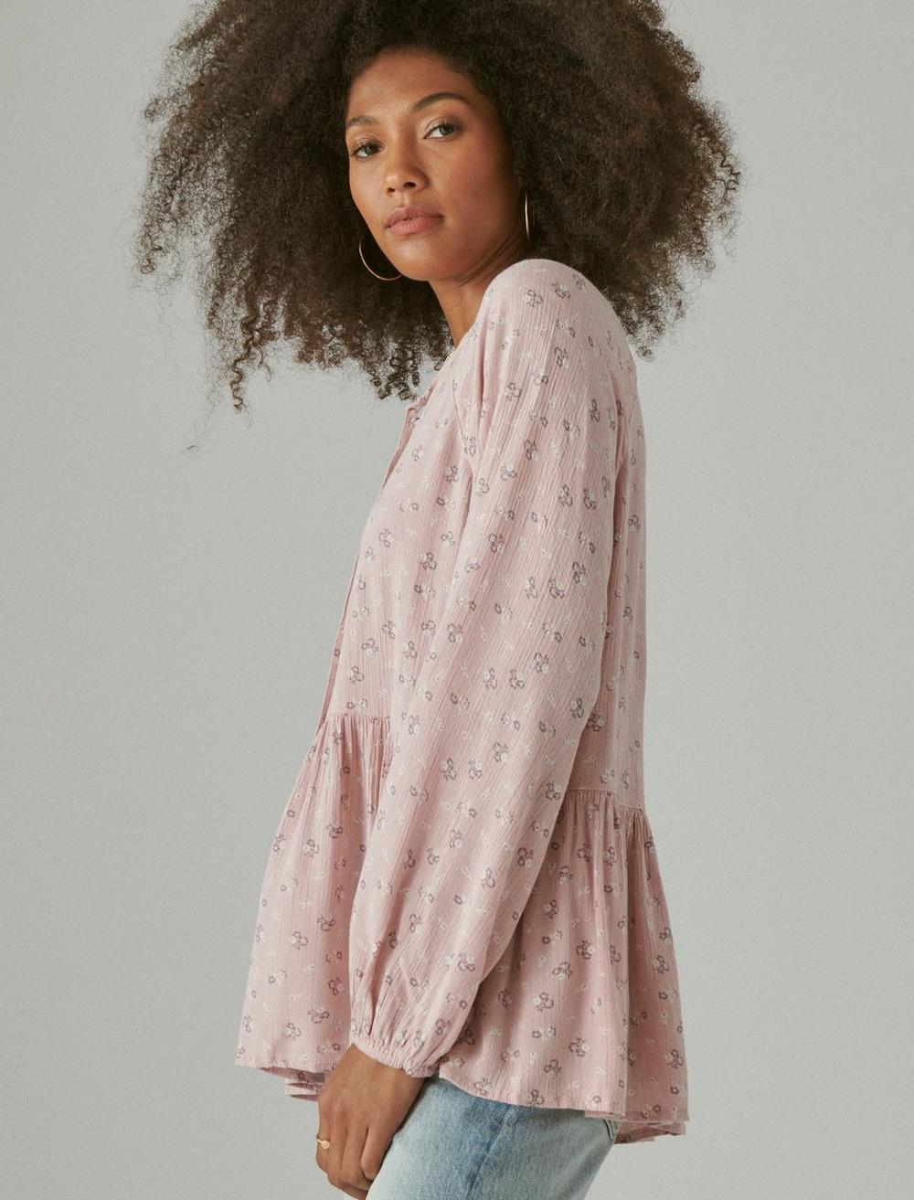 FLORAL PRINTED TUNIC, image 3