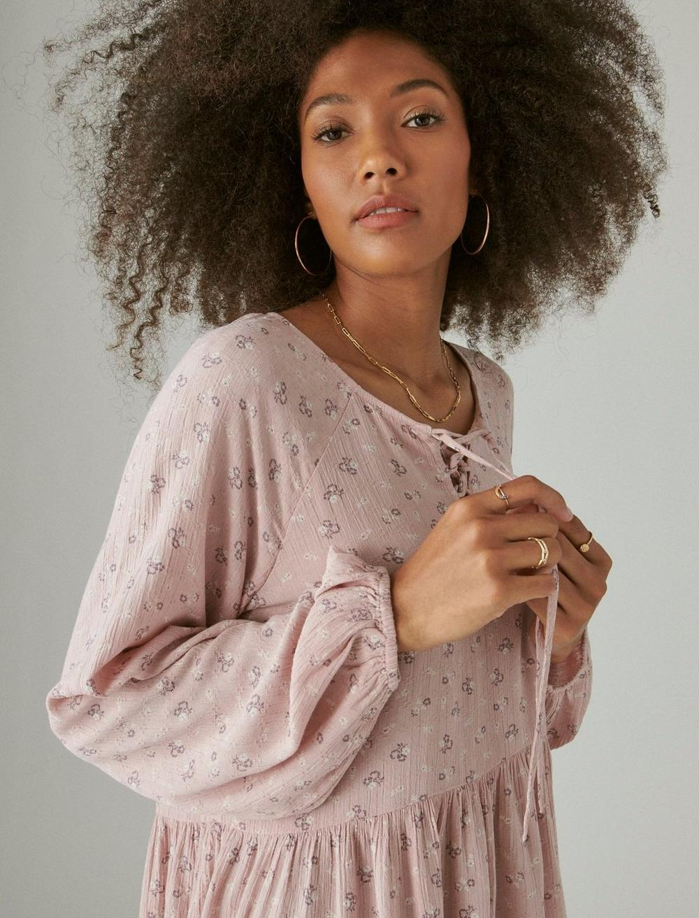 FLORAL PRINTED TUNIC, image 5