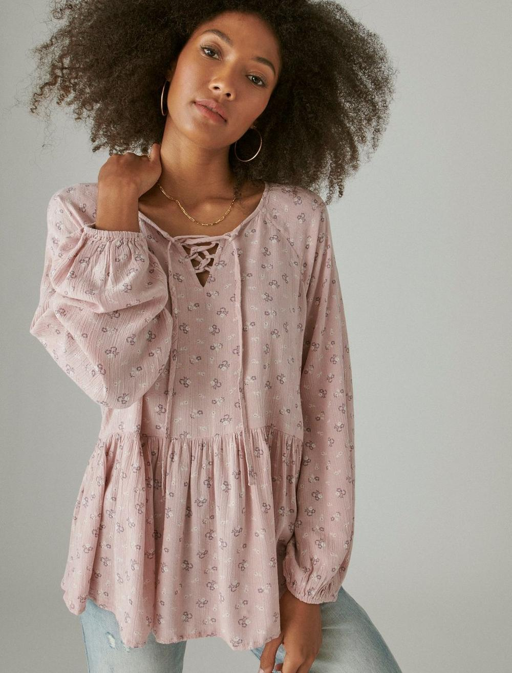 FLORAL PRINTED TUNIC, image 6