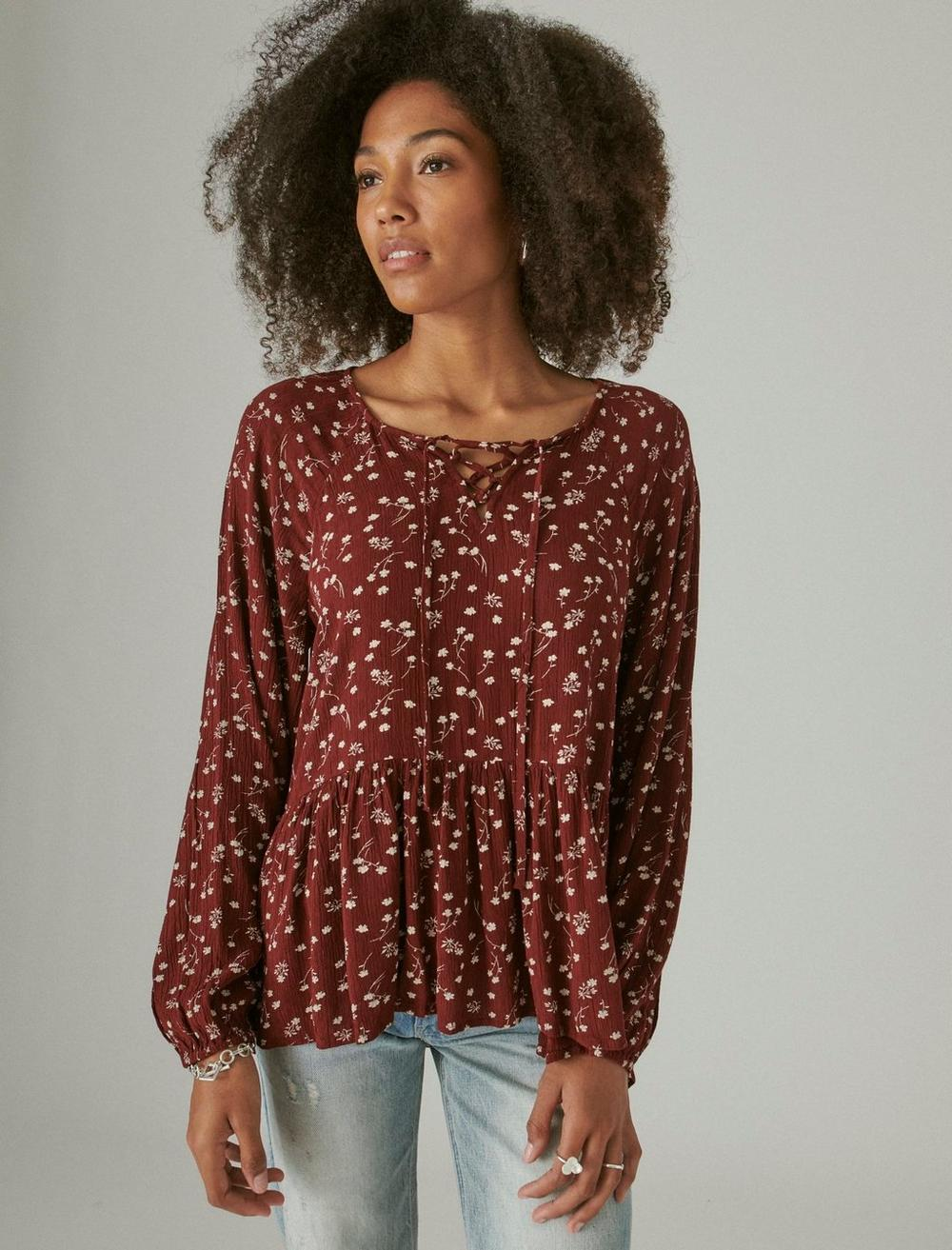 FLORAL PRINTED TUNIC, image 1