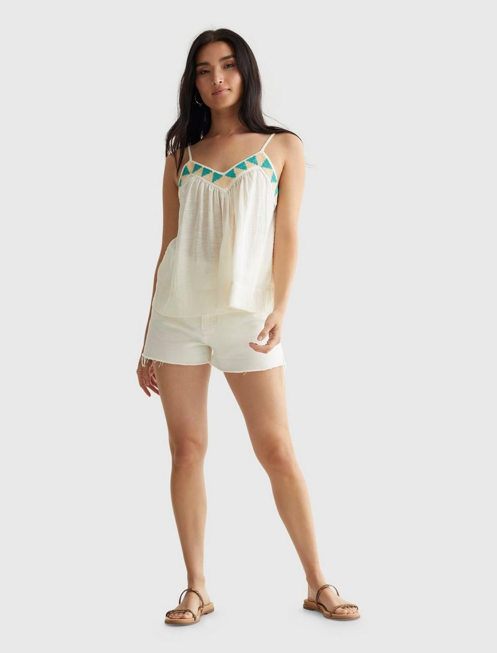 LIMITED EDITION BEADED FLOWY CAMI, image 2