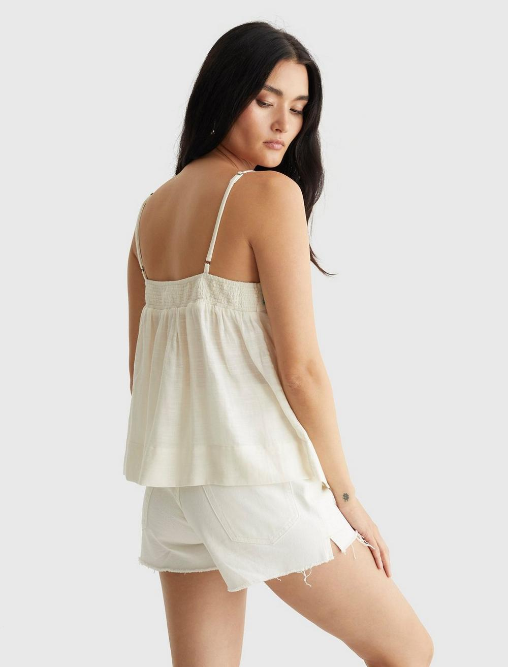LIMITED EDITION BEADED FLOWY CAMI, image 4