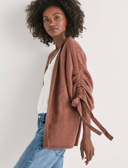 Lucky Cinched Sleeve Cardigan