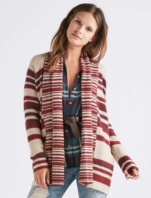 MULTI STRIPE CARDIGAN,