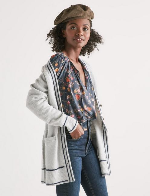 BUTTON FRONT CARDIGAN,