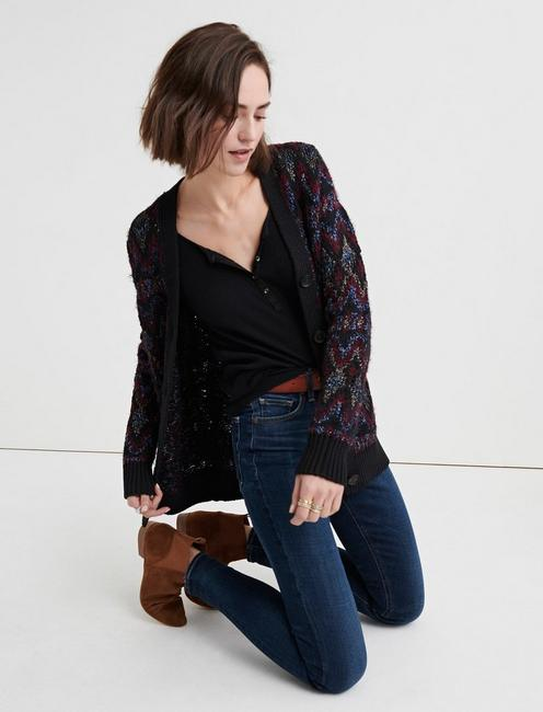 SHINE FAIR ISLE CARDIGAN,