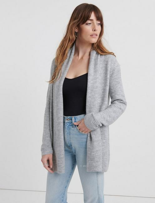 LIGHTWEIGHT WATERFALL CARDIGAN,