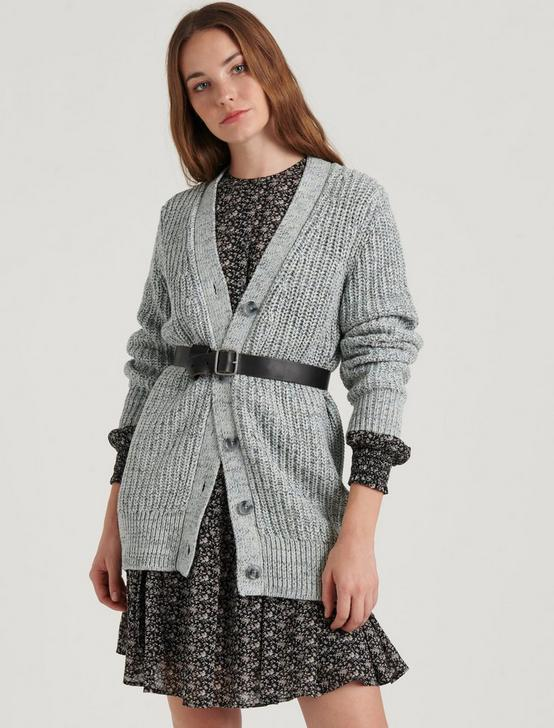 KELLY BOYFRIEND CARDIGAN, GREY MULTI, productTileDesktop