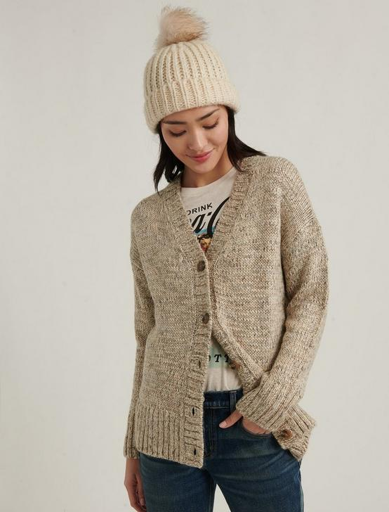 GRANDPA CARDIGAN, MUSHROOM HEATHER, productTileDesktop