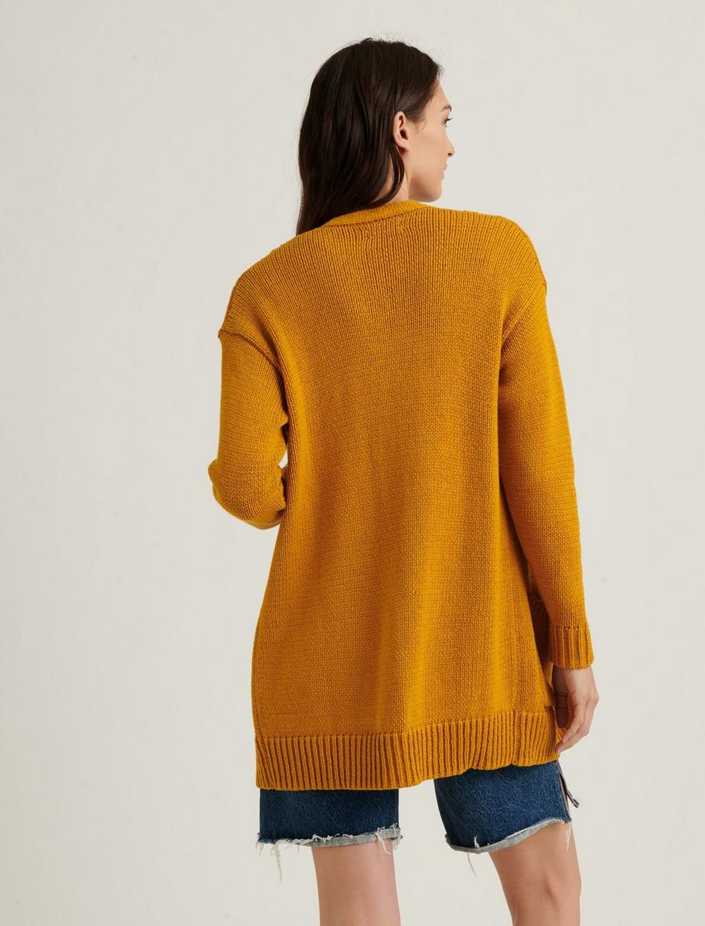 CABLE FRONT CARDIGAN, image 4