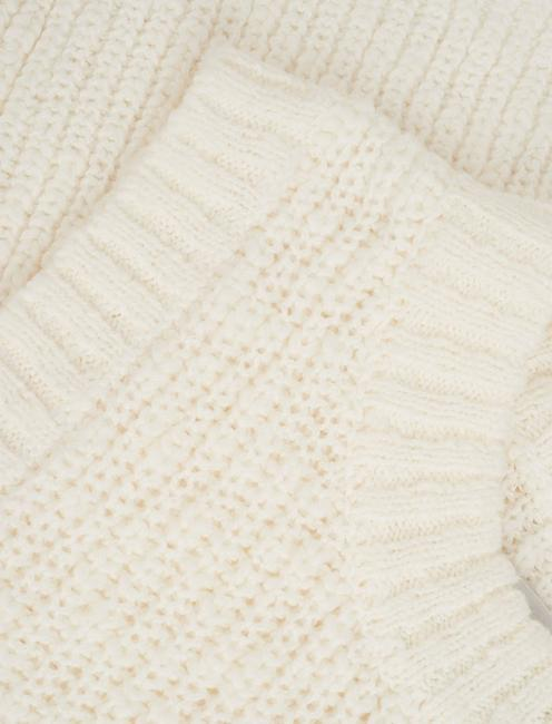 BASIC SWEATER TANK, SNOW WHITE