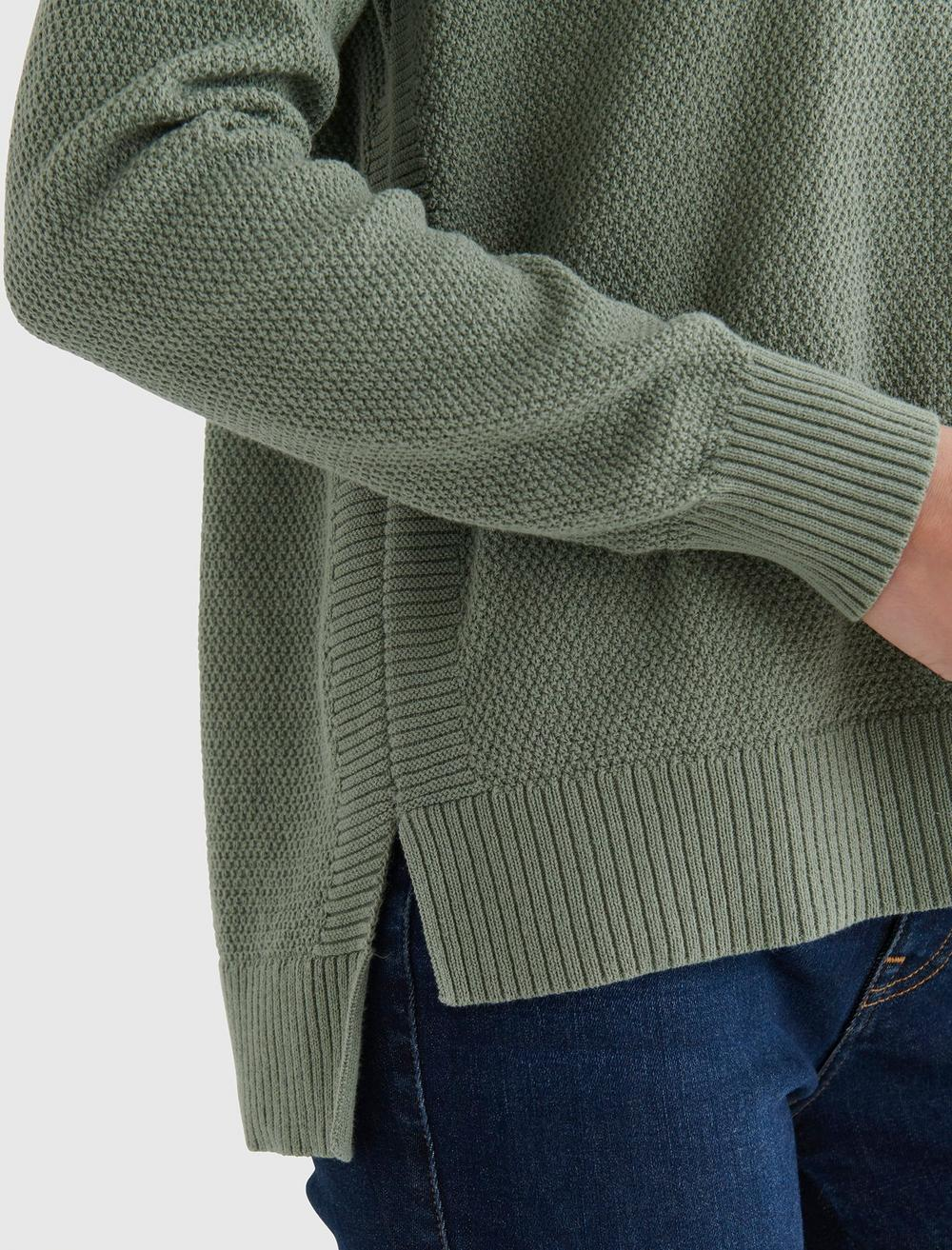 TEXTURED KNIT SWEATER, image 3