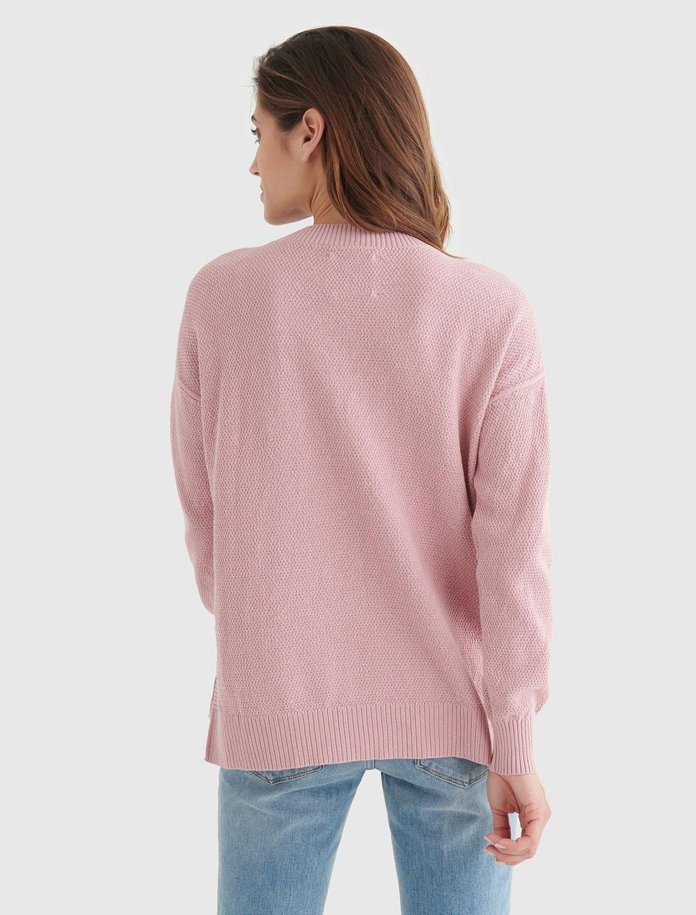 TEXTURED KNIT SWEATER, image 5
