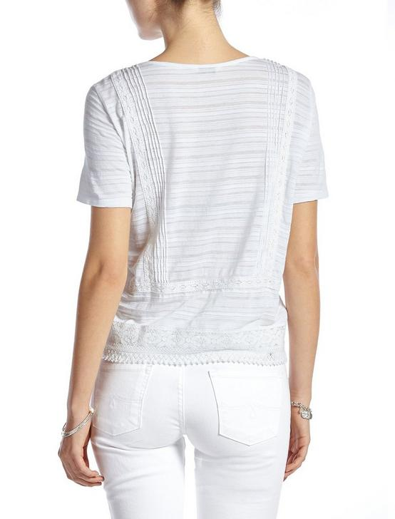 PANEL EMBROIDERED TOP, LUCKY WHITE, productTileDesktop