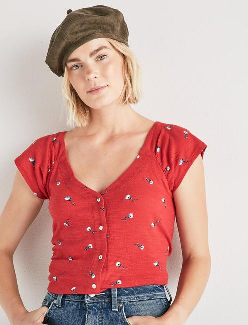 BUTTON UP TOP,