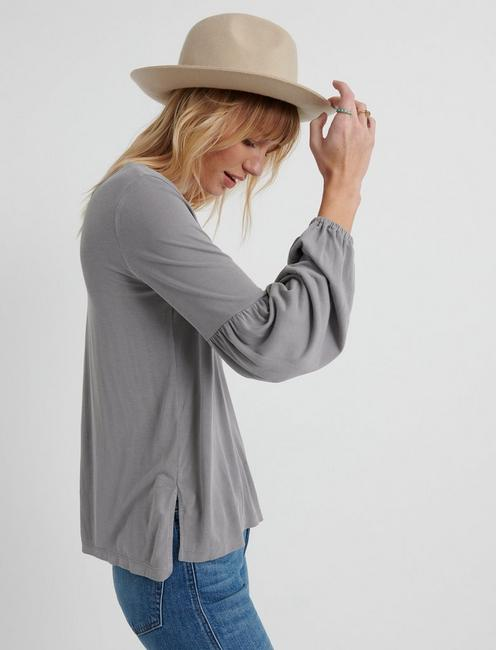 Sandwash Volume Sleeve Top