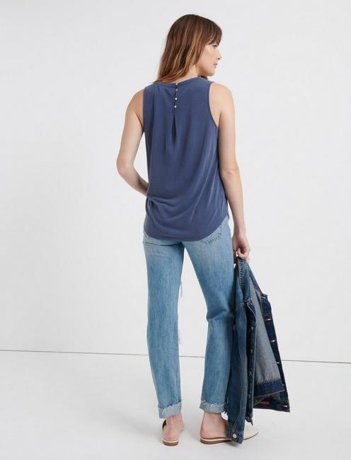 SANDWASH SCOOP TANK, NAVY