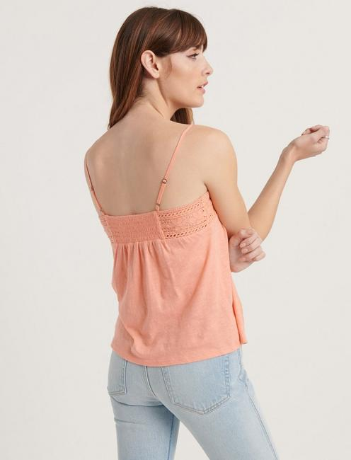 EMBROIDERED CAMI TOP,