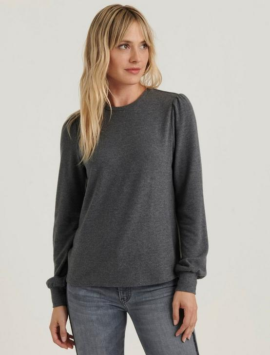 CLOUD JERSEY FEMME SLEEVE, CHARCOAL, productTileDesktop