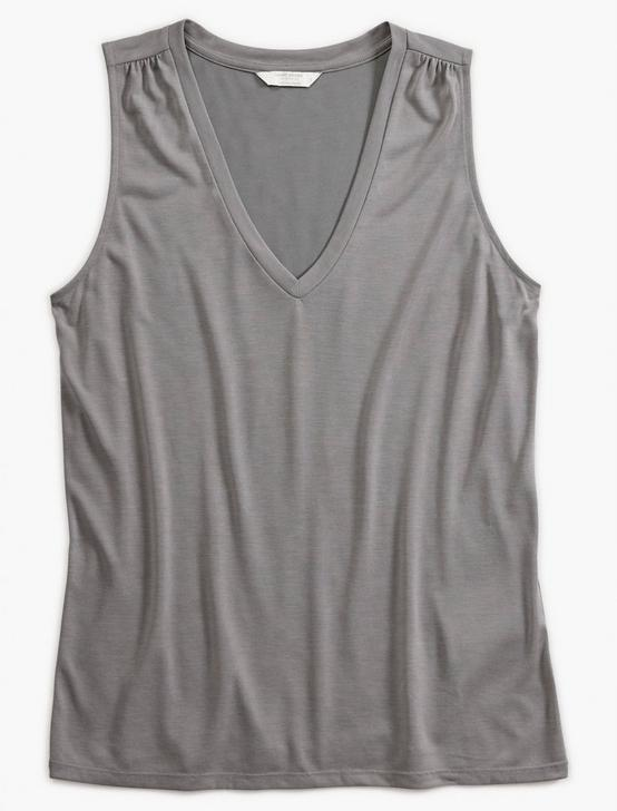 V-NECK SANDWASH TANK, GREY, productTileDesktop