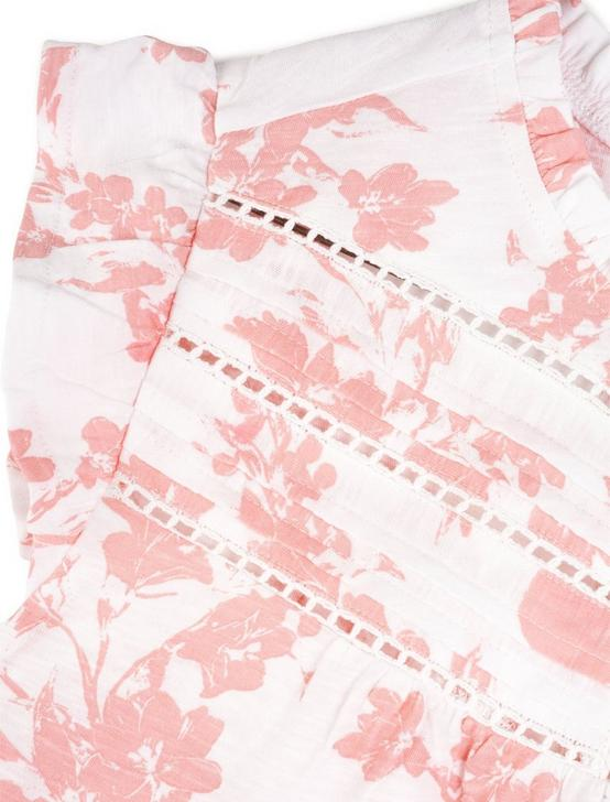 HIGH NECK PRINTED SHELL, PINK MULTI, productTileDesktop