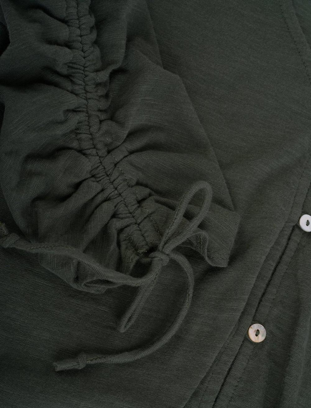 RUCHED SLEEVE TOP, image 2