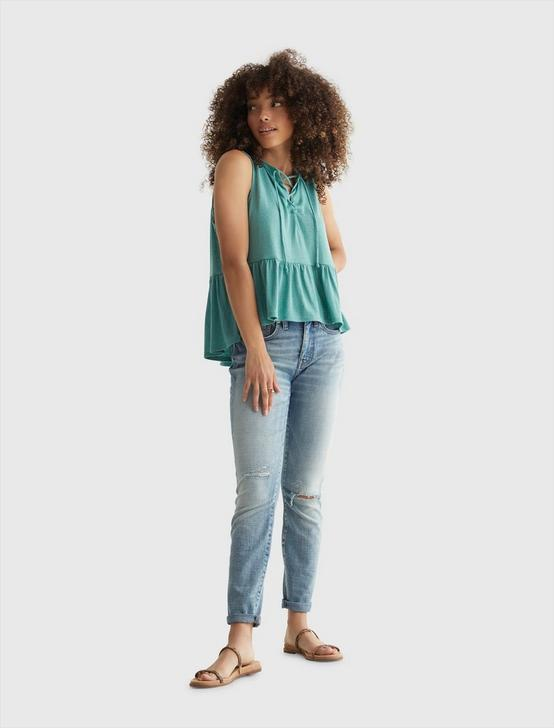 RELAXED CAMI, OIL BLUE, productTileDesktop